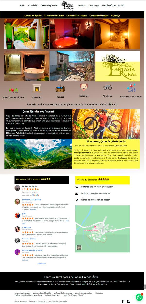 Diseño Web intuitivo innovador y funcional, negocios rurales